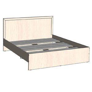 Кровать 1600 Соната Дуб молочный