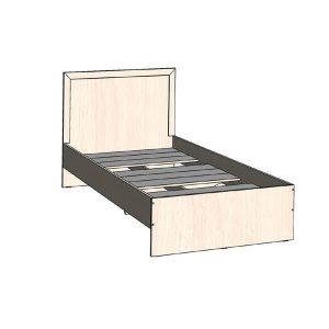 Кровать 900 Соната Дуб молочный
