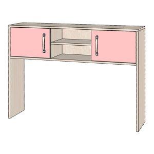 Надстройка розовая