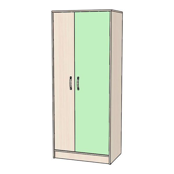 Шкаф для одежды зелёный